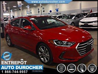 Hyundai Elantra GLS AUTOMATIQUE, TOIT OUVRANT, BLUETOOTH 2017