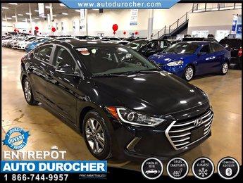 Hyundai Elantra GL TOUT ÉQUIPÉ BLUETOOTH SIÈGES CHAUFFANTS CAMÉRA 2017