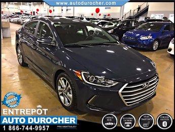2017 Hyundai Elantra GLS TOUT ÉQUIPÉ BLUETOOTH CAMÉRA SIÈGES CHAUFFANTS