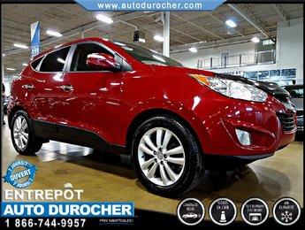 2011 Hyundai Tucson AUTOMATIQUE - AIR CLIMATISÉ - 4X4 - CUIR