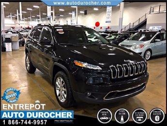 2014 Jeep Cherokee Limited AWD CUIR BLUETOOTH SIÈGES CHAUFFANTS