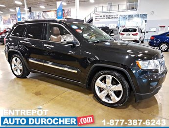 Grand Cherokee 2012 Jeep Overland - 4x4 - NAVIGATION - Toi ouvrant - CUIR