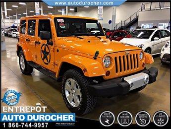 Jeep Wrangler Unlimited AUTOMATIQUE TOUT ÉQUIPÉ 2 TOITS 4X4 2012