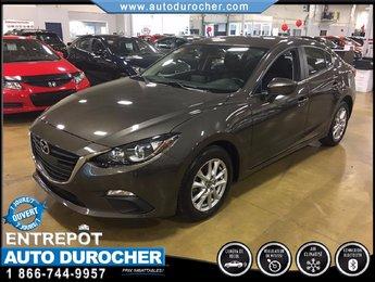 Mazda Mazda3 GS-SKY AUTOMATIQUE TOUT ÉQUIPÉ CAMÉRA DE RECUL 2014