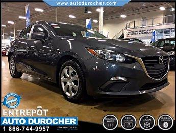 Mazda Mazda3 GX-SKY AIR CLIMATISÉ GROUPE ÉLECTRIQUE 2014