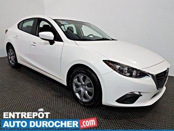 2014 Mazda Mazda3 GX-SKY Automatique - AIR CLIMATISÉ -
