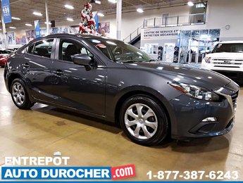 Mazda Mazda3 GX GROUPE ÉLECTRIQUE 2015