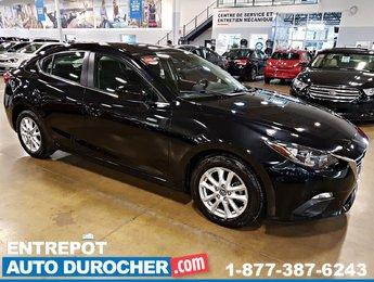 2015 Mazda Mazda3 GS - Automatique - AIR CLIMATISÉ - CAMÉRA DE RECUL