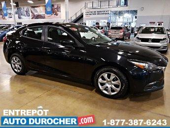 2017 Mazda Mazda3 GX AUTOMATIQUE - AIR CLIMATISÉ - GROUPE ÉLECTRIQUE