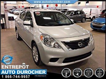 Nissan Versa 1.6 AUTOMATIQUE TOUT ÉQUIPÉ AIR CLIMATISÉ 2012
