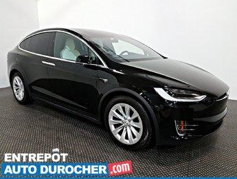 2017 Tesla Model X 90D AWD NAVIGATION  Automatique- A/C - Cuir-