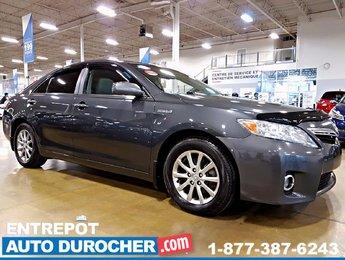 2011 Toyota Camry Hybrid AUTOMATIQUE  TOIT OUVRANT - CUIR - BAS KILOMÉTRAGE