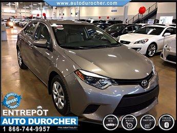 Toyota Corolla CE TOUT ÉQUIPÉ SIÈGES CHAUFFANTS CAMÉRA 2014