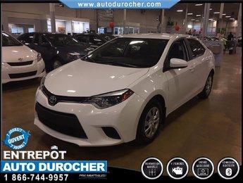Toyota Corolla CE TOUT ÉQUIPÉ AIR CLIMATISÉ BLUETOOTH 2014