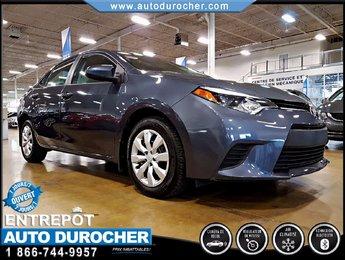 2014 Toyota Corolla AUTOMATIQUE - AIR CLIMATISÉ - CAMÉRA DE RECUL