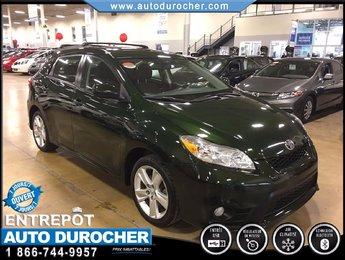 2012 Toyota Matrix 4X4 TOUT ÉQUIPÉ TOIT OUVRANT BLUETOOTH