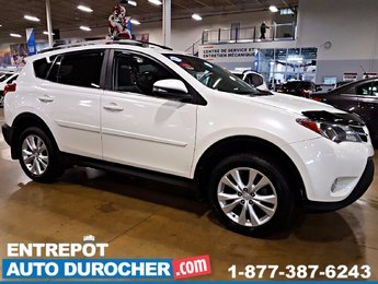 Toyota RAV4 LIMITED AWD AUTOMATIQUE, TOIT OUVRANT, CUIR 2014