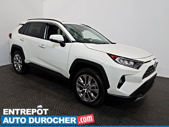 2019 Toyota RAV4 Limited AWD NAVIGATION - Toit Ouvrant - A/C - Cuir