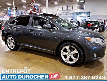 Toyota Venza AWD AUTOMATIQUE - TOIT OUVRANT - SIÈGES EN CUIR 2011