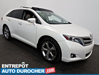 2014 Toyota Venza AWD NAVIGATION TOIT OUVRANT - A/C - Cuir