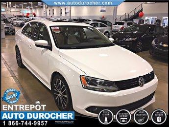 Volkswagen Jetta Sedan SPORTLINE TOUT ÉQUIPÉ CUIR TOIT OUVRANT JANTES 2013