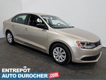 2013 Volkswagen Jetta Sedan Trendline+ AIR CLIMATISÉ - Automatique -