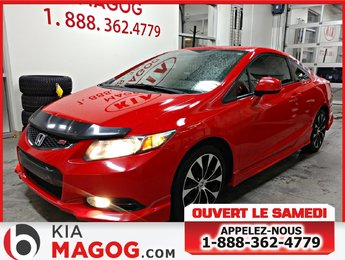 Honda Civic Cpe 2013 Si / JAMAIS ACCIDENTÉ / GPS/ SIEGES CHAUFFANTS /