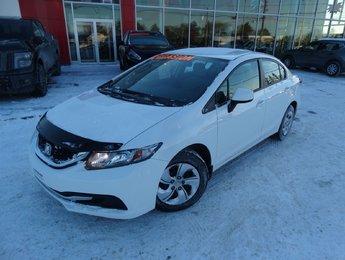 Honda Civic Sdn 2013 LX/SIEGES CHAUFFANT/BLUETOOTH/AUTOMATIQUE/CRUISE/
