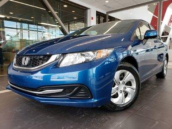 Honda Civic Sdn 2013 LX SIÈGES CHAUFFANTS AIR CLIMATISÉ BLUETOOTH
