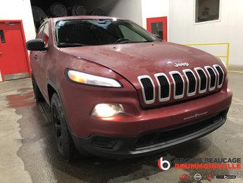 Jeep Cherokee 2014 SPORT- 4X4- HITCH- CAMÉRA- DÉMARREUR!