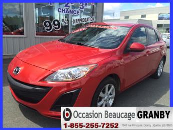 Mazda Mazda3 2011 GX*HATCHBACK*CLIMATISEUR*SIÈGES CHAUFFANTS
