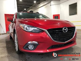 Mazda Mazda3 2014 GT SPORT - FULL - HATCHBACK - CUIR/TOIT/NAV - BAS
