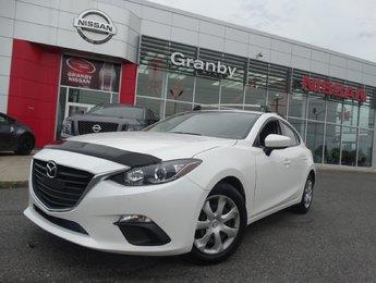 Mazda Mazda3 2016 GX/AUTOMATIQUE/BLUETOOTH/CAMÉRA DE RECULE/
