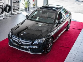 Mercedes-Benz C-Class 2015 C400 4Matic