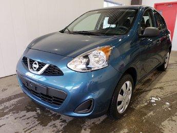 Nissan Micra 2017 S - CERTIFIÉ - AUBAINE - JAMAIS ACCIDENTÉ!