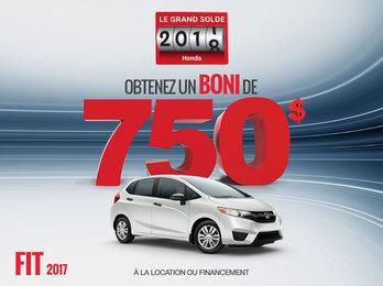La Honda Fit 2017 en rabais!