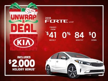 Save Big on the 2018 Forte