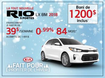Rio 5 portes 2018
