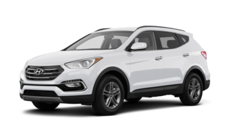 Hyundai Santa Fe Sport 2.4 L 2017 Frost White Pearl
