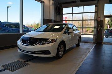 Honda Civic Sdn LX,CAMÉRA DE RECUL,SIÈGE CHAUFFANT, CRUISE CONTROL 2013