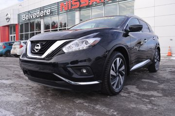 2017 Nissan Murano PLATINUM AWD GPS REGULATEUR VITESSE ADAPTATIF