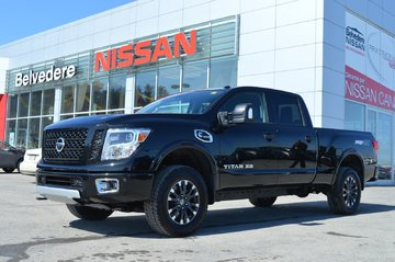2018 Nissan Titan XD DIESEL PRO 4X DEMO CUIR NAVIGATION CUMMINS NEUF