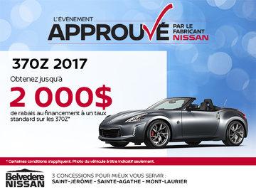 370Z 2017 en rabais!