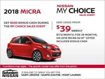 2018 Micra SV
