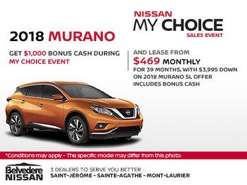 2018 Murano