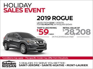 2019 Nissan Rogue!