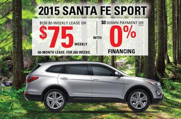 2015 Santa FE SPORT FWD