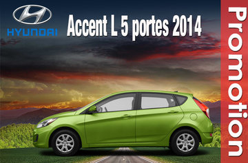 Accent L 5 portes 2014
