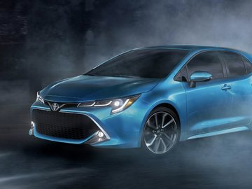 Hatch is Back! All-New 2019 Toyota Corolla Hatchback Wows at the 2018 New York International Auto Show