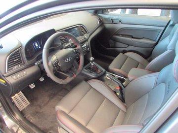 2018 Hyundai Elantra SPORT 1.6L 4 CYL 6 SPD MANUAL FWD 4D SEDAN